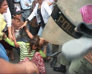 Police brutality against women