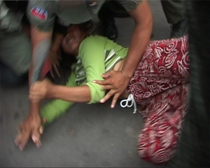 police brutality against women in cambodia