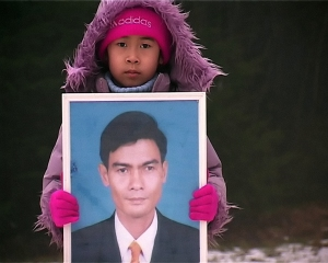 Chea Vichea's daughter was only a toddler when he was assassinated in 2004.