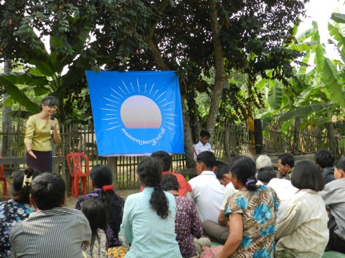 Meeting with farmers in Battambang-16/01/13