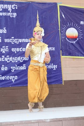 The Blessing dance performed by Cambodian Workers dance group- South Korea - CNRP reception with Cambodian workers.