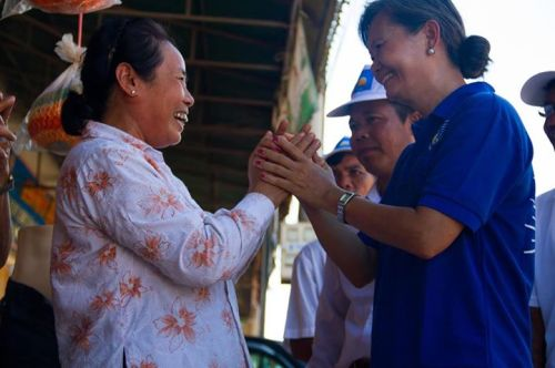 Mu Sochua thanks voters