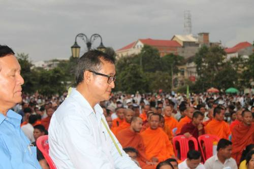 Sam Rainsy , Kem Sokha in mediation-Freedom Park -4 September,2013