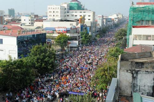 29Dec. CNRP rally in Phnom Penh