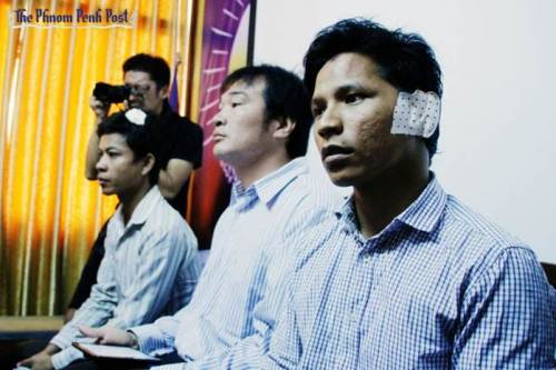 Victims of the 21 April crackdown at Freedom Park-Phto Phnom Penh Post.