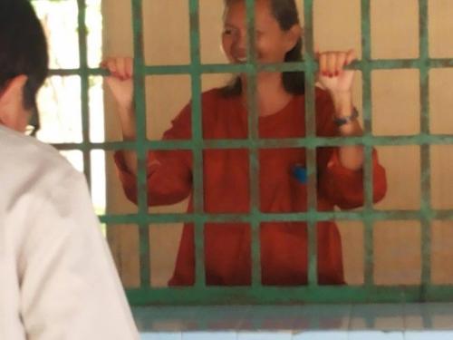 Mu Sochua in Prey Sar prison
