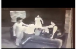 From video clip of the attack