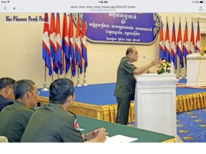 Four-star General, Chea Dara. Photo Phnom Penh Post