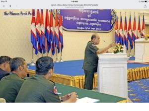 Four-star General, Chea Dara. Photo Phnom Penh Post
