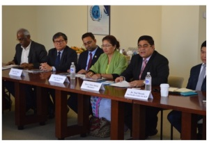 Members of ASEAN PARLIAMENTARIANS FOR HUMAN RIGHTS- New York City 14/09/15