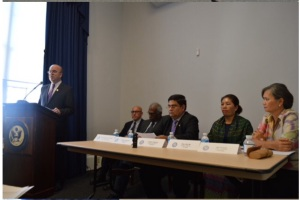 Public Hearing with Cong. James McGovern, Co-Chair of Tom Lantos Human Rights Commission